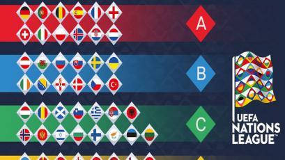 UEFA decidió la composición de la La Liga de Naciones
