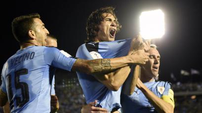 Uruguay se clasificó a Rusia como segundo en Sudamérica