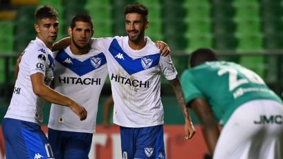 Copa Sudamericana: Luis Abram anotó en la goleada 5-1 de Vélez Sarsfield ante Deportivo Cali