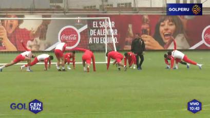 Perú entrenó en la Videna previo a la Copa América