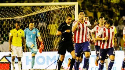 Paraguay sorprendió y derrotó a Colombia en Barranquilla