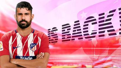 Diego Costa vuelve al Atlético