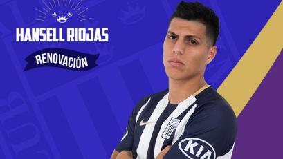 Alianza Lima: Hansell Riojas renovó por dos temporadas más