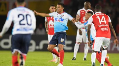 Copa Sudamericana, semifinales: Junior sorprende a Santa Fe en la ida
