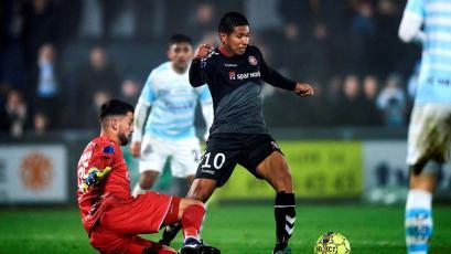 Edison Flores dio asistencia en la victoria del Aalborg en partido amistoso