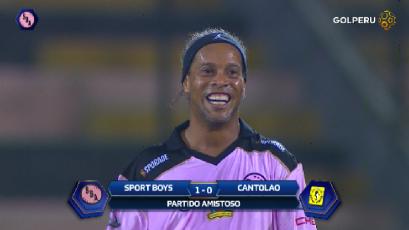 RONALDINHO en el Callao: Sport Boys 1-0 Cantolao