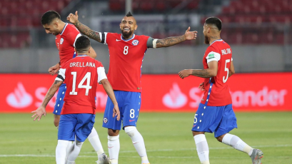 Chile vs Perú: Arturo Vidal anotó un golazo que dejó parado a Pedro Gallese (VIDEO)