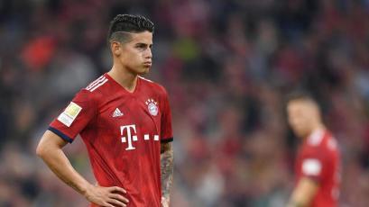 James Rodríguez no se quedaría en el Bayern Múnich