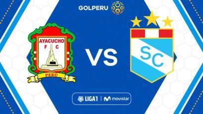 Liga1 Movistar: Ayacucho FC recibe a Sporting Cristal