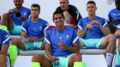 Luis Abram tuvo minutos en el amistoso del Granada CF ante el RB Linense (VIDEO)