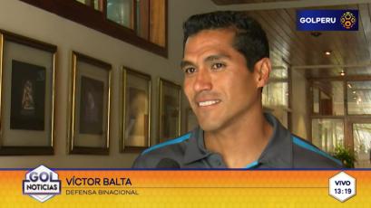 """Víctor Balta: """"Cada partido es un examen para nosotros"""""""