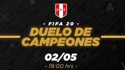 eSports: esta noche se jugará el Duelo de Campeones del Torneo de FIFA 20 de la FPF