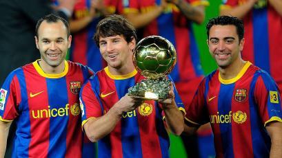 Barcelona: el plan con Xavi que haría que Lionel Messi se quede