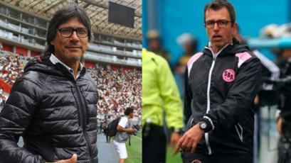 Liga1 Movistar: Ángel Comizzo y Marcelo Vivas llegaron a Perú para entrenar a sus equipos