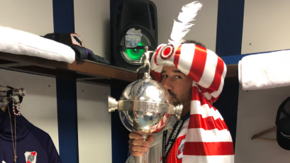 "Rodrigo Mora: ""Increíblemente la vida me regala otra Copa Libertadores"""