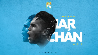 Liga1 Movistar: Sporting Cristal hizo oficial el fichaje del venezolano Jhon Marchán