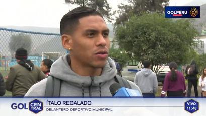 """Ítalo Regalado: """"Anotar siempre llena de confianza a un delantero"""""""