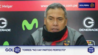"""Hernán Torres: """"Tuvimos opciones para ampliar el marcador, pero no estuvimos finos"""""""