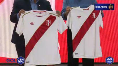 Selección Peruana: la camiseta para el Mundial fue presentada