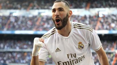 Karim Benzema se convierte en el quinto máximo goleador histórico del Real Madrid en LaLiga