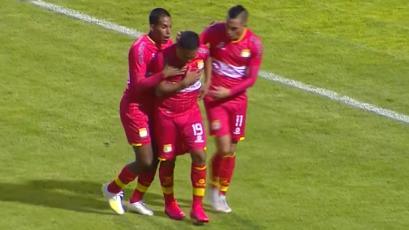 Sport Huancayo vs. Atlético Grau: el golazo de Marcos Lliuya para el 'Rojo Matador' (VIDEO)