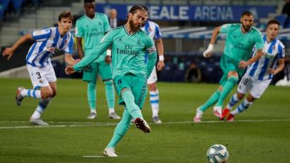 Sergio Ramos no tiene lesión de rodilla y se convirtió en el segundo defensa más goleador de LaLiga