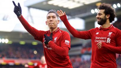 Con goles de Firmino y Mané, Liverpool se impuso ante el Burnley