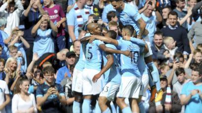 Manchester City vapuleó 5-0 al Liverpool