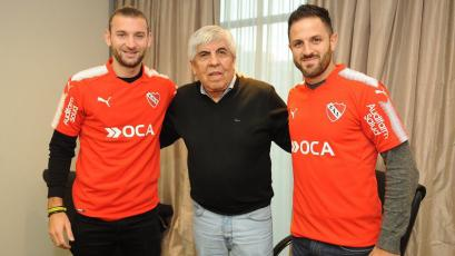 Independiente presentó a sus flamantes refuerzos
