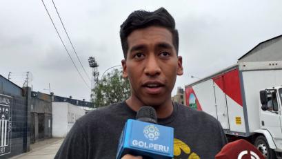 """Ítalo Espinoza: """"Trato de imitar lo que hace Leao Butrón"""""""