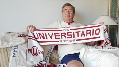 Universitario: Rubén Techera invita a todos a quedarse en casa durante la cuarentena