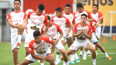 Selección Peruana Sub23 entrenó en La Videna con miras al Preolímpico Colombia 2020