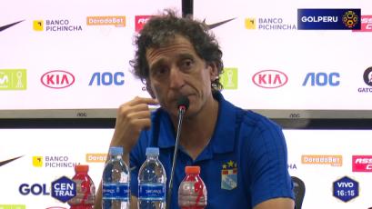"""Mario Salas: """"Nunca nos sentimos dominadores del partido"""""""