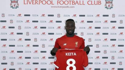 Liverpool cierra el fichaje de Naby Keita para 2018