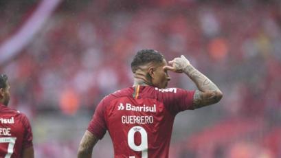 Paolo Guerrero marcó en el triunfo del Inter sobre el Atlético Mineiro (VIDEO)