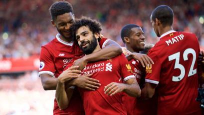 Liverpool aplastó 4 a 0 al Arsenal