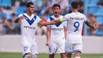 Vélez, con Luis Abram, igualó 1-1 ante Colón