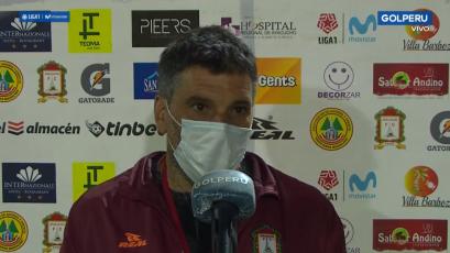 """Gerardo Ameli: """"La última jugada del primer tiempo nos cambió todo el panorama"""" (VIDEO)"""