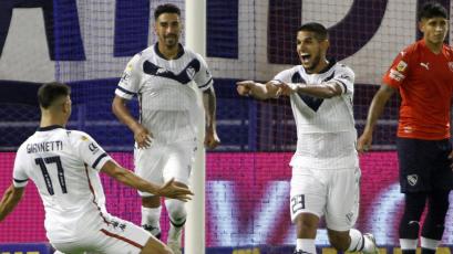 Luis Abram anotó el gol del triunfo de Vélez ante Independiente por la Copa de la Liga Profesional (VIDEO)