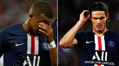 Kylian Mbappé y Edison Cavani se lesionan y estarían hasta un mes de baja