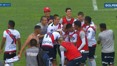 Deportivo Municipal se llevó los tres puntos ante Ayacucho FC con un agónico triunfo
