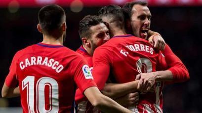 Atlético de Madrid se metió de lleno a la pelea por La Liga