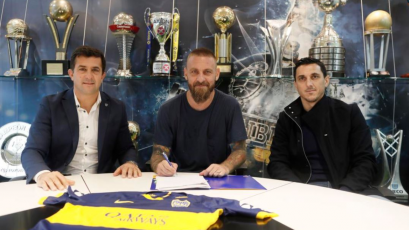 Oficial: Daniele De Rossi es nuevo jugador de Boca Juniors
