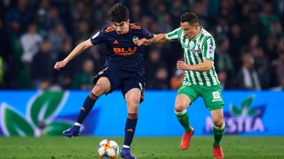 Copa del Rey: Valencia rescata un empate sobre el final ante Betis