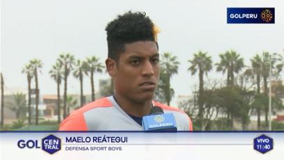 """Maelo Reátegui: """"El domingo saldremos por los tres puntos"""""""