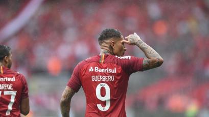 Copa Libertadores: Con un doblete de Paolo Guerrero, Internacional superó 3-2 a Palestino