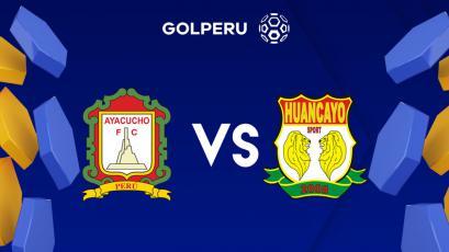 Sport Huancayo se juega su última chance ante Ayacucho FC