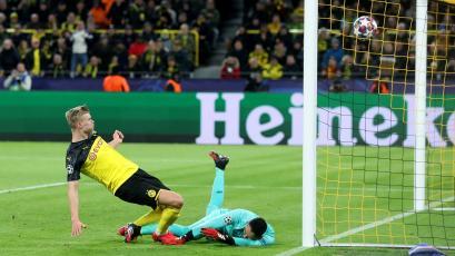 Champions League: Borussia Dortmund superó al PSG con un doblete de Erling Haaland (VIDEO)