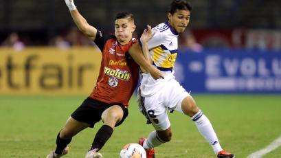 Copa Libertadores: Con Carlos Zambrano, Boca Juniors igualó de visita ante Caracas FC