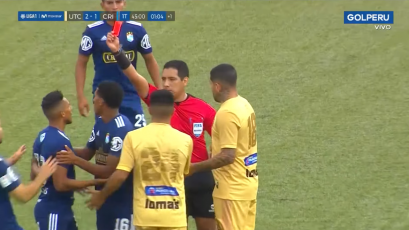 UTC vs. Sporting Cristal: así fue la doble expulsión en Cajamarca (VIDEO)